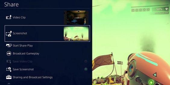 PS4 Update 4.00: Das neue Teilen-Menü-Auch beim Öffnen des Teilen-Menüs (Share-Button am Controller) wird man künftig nicht mehr das Spiel verlassen, sondern es öffnet sich an der linken Seite des Bildschirms ein Menü, über das die Inhalte (Videos oder Screenshots) geteilt werden können. Die Länge der Videos, die über Twitter direkt aus dem Teilen-Menü hochgeladen werden dürfen, verlängert sich von bisher 10 Sekunden auf 140 Sekunden.