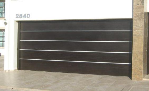 Portones automatizados ideas for the house pinterest for Portones para garage