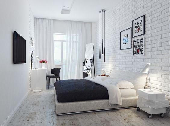 Самые подходящие направления под белый кирпич – лофт, минимализм, скандинавский и хай-тек. #loft #myloftby #мойлофт