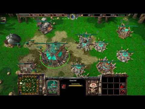 warcraft 3 reforged night elf gameplay