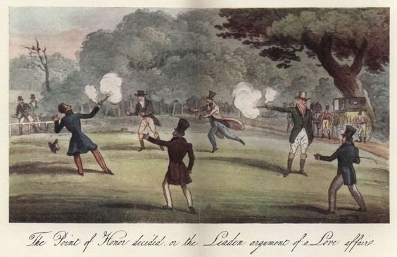 Two Nerdy History Girls: The British Code of Duel