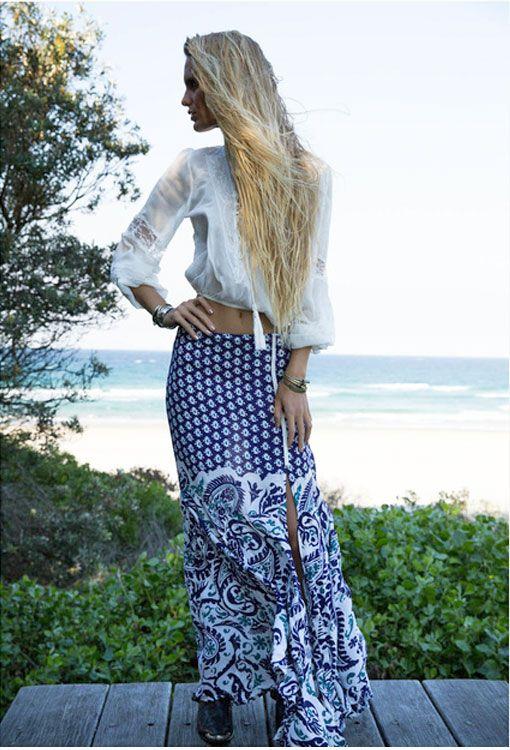 Harmony Skirt – Amethyst | Arnhem www.thefreedomstate.com.au  boho | bohemian | gypsy | Spring | Australia | online store