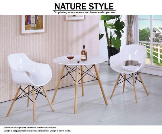 居家生活 溫斯頓白色扶手餐椅 - Yahoo!奇摩購物中心