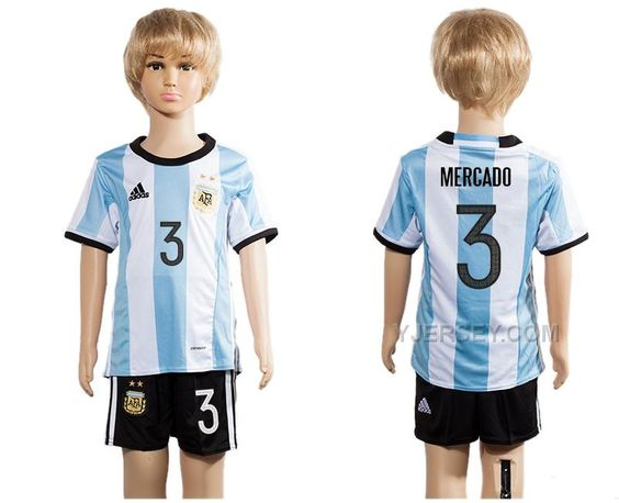 http://www.yjersey.com/argentina-3-mercado-home-youth-2016-copa-america-centenario-soccer-jersey.html ARGENTINA 3 MERCADO HOME YOUTH #2016 COPA AMERICA CENTENARIO SOCCER JERSEYOnly$35.00  Free Shipping!