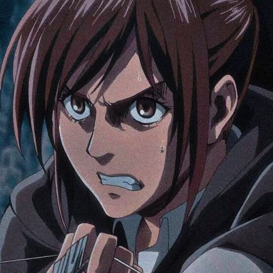 Sasha Blouse icon   Anime, Attack on titan anime, Outline drawings