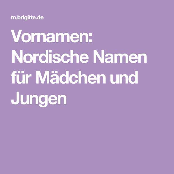 Vornamen: Nordische Namen für Mädchen und Jungen