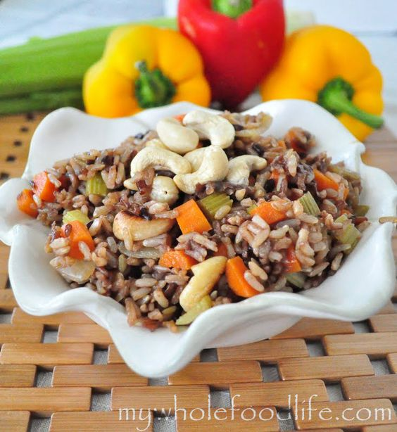 Fried rice, Rice and Healthy meals on Pinterest