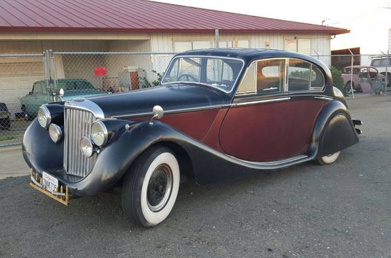 Sad Cat: 1949 Jaguar Mark V - http://barnfinds.com/sad-cat-1949-jaguar-mark-v/
