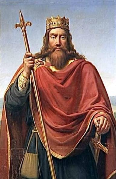 King Clovis I...a Merovingian 'King Arthur'...