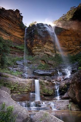 100万ヘクタールの世界遺産、ブルーマウンテンズをトレッキング。シドニー旅行の観光アイデア。