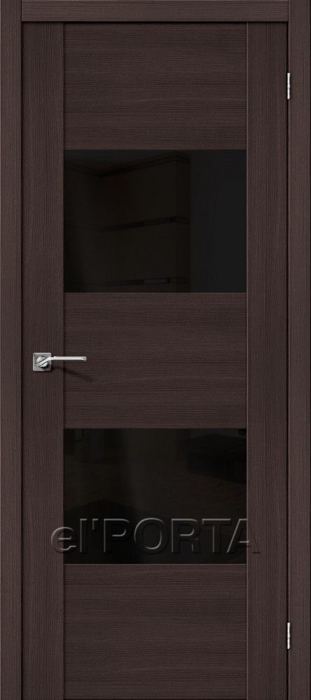 The Door Factory el'PORTA / Model: Vetro VG2 Wenge