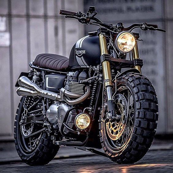 Triumph... what else. Find your Inspiration @ #DapperNDame Pinterest. dapperanddame.com