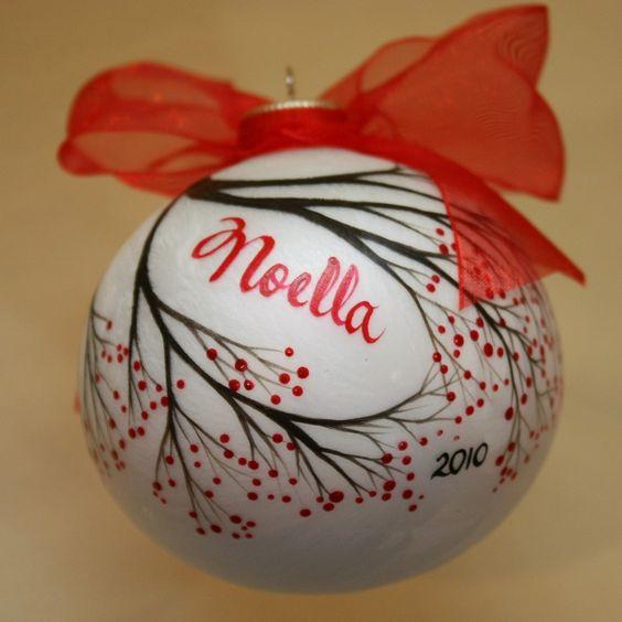 Ornament personalized 15 00 via etsy holidays christmas