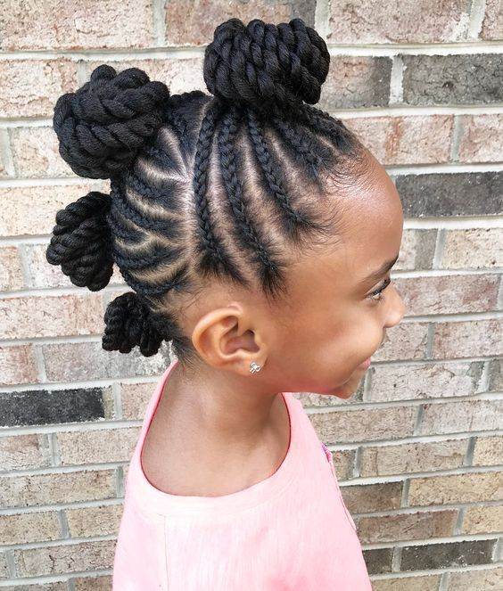 30 Easy Natural Hairstyles Ideas For Toddlers Natural Hair Styles Easy Natural Hair Styles Girls Hairstyles Braids