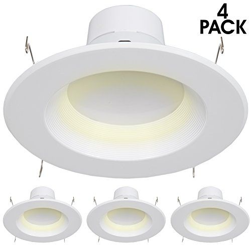 900 Lumens 6inch Maxxima Dimmable Led Retrofit Downlight Fixture 2700k Warm White Energy Star 90 Watt Equivalent Strai Dimmable Led Downlights Cool Floor Lamps