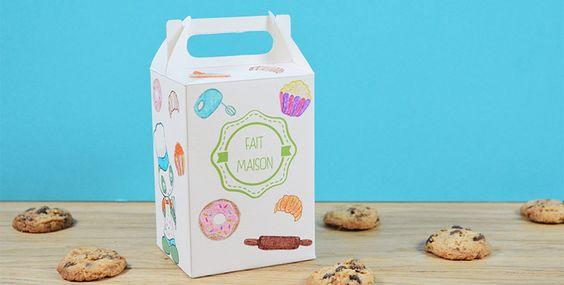 Une jolie boîte pour offrir ses meilleurs biscuits