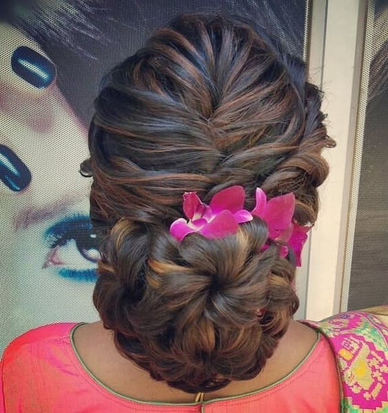 Bun Hairstyles For Long Hair Indian Fashion Ideas Indian Fashion Ideas Bun Hairstyles For Long Hair Bridal Hair Buns Bun Hairstyles