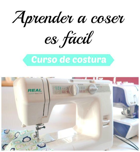 Aprender a coser gratis | Colours for Baby, Patrones y Tutoriales de Costura