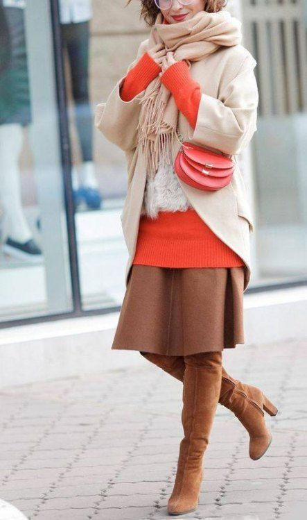 57 Colorful Fall  Outfits To Inspire