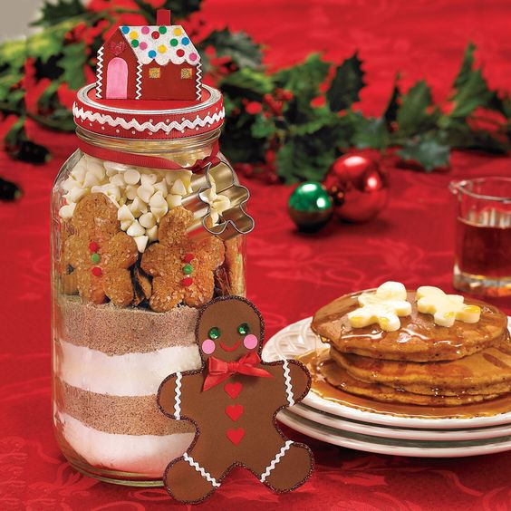 From our Celebrate! winter issue: Print the label for our Holiday Gingerbread Pancake Mix