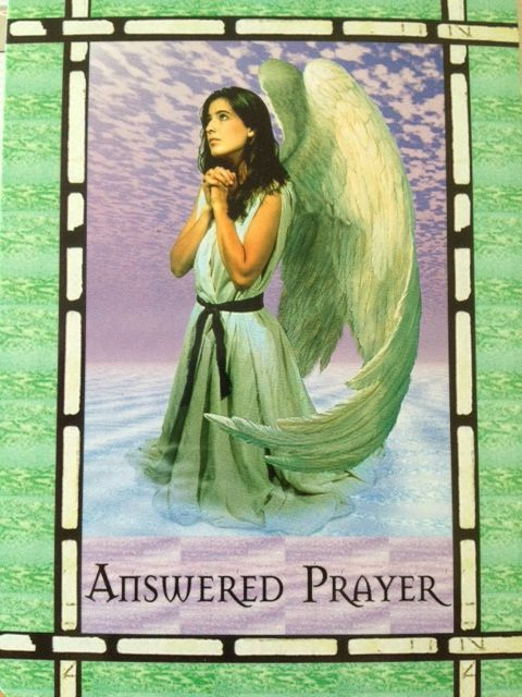 """""""Answered Prayer"""" - All of your prayers are always answered but not always in the way you expect! www.soullight.ie"""