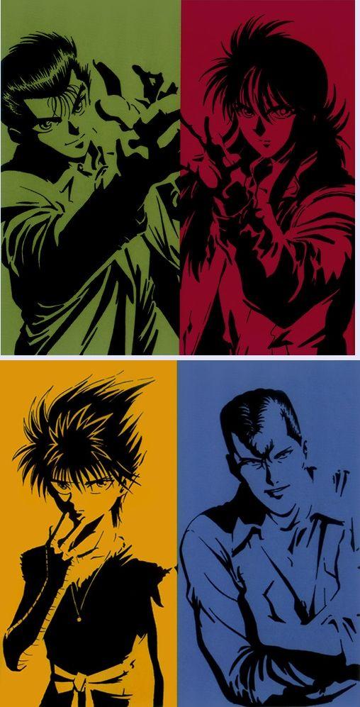 メイン4人 キャラそれぞれの色