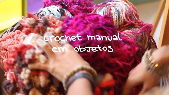 DIY ensinando a técnica do crochet manual da artista plástica Aline Tercete (Alinet).  Créditos | Credits cliente | client: FARM direção…