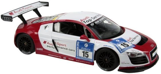 RADIO CONTROLLED SPORTS CARS  RC AUDI R8 LMS 1:14 SCALE