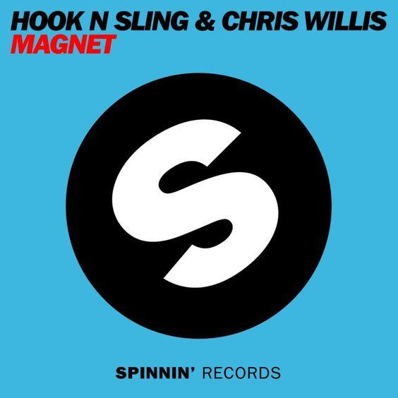 Hook n Sling, Chris Willis – Magnet (single cover art)