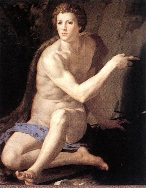 Agnolo Bronzino, Giovanni de' Medici come San Giovanni nel deserto