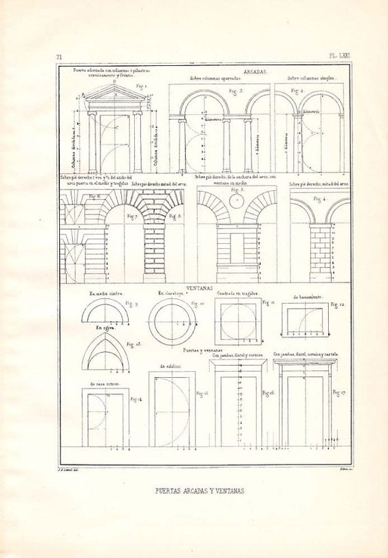 Architectural prints window and doors on pinterest for 1920s window