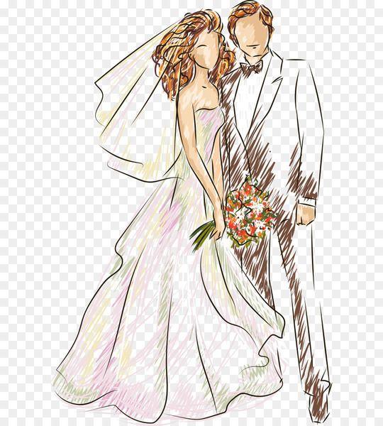 Free Download Wedding Illustration Vector Wedding Wedding Illustration Vector Wedding