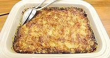 Hoy preparamos Lasaña de verduras para todos vosotros, una receta de 'toma pan y moja'