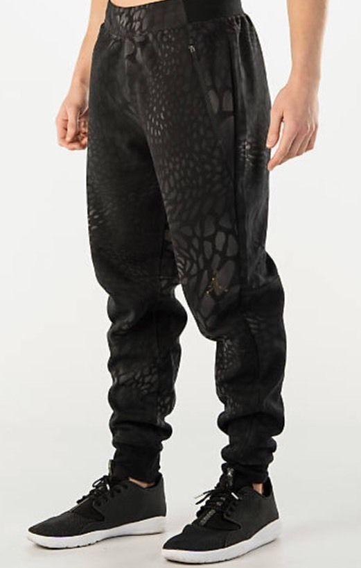 nike air jordan printed fleece pant