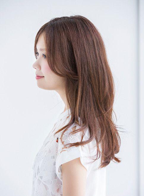 ロング 大人可愛いワンカール2015 Naomi Ramie Ginzaの髪型 ヘア