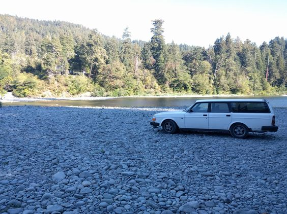 Wagon Wednesday! Took the 245 up to visit the redwoods. #Volvo #XC90 #car #VolvoXC90 #v40 #cartweet #cars #auto #v60