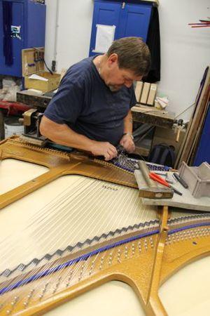 grand piano stringing http://pinterest.com/cameronpiano