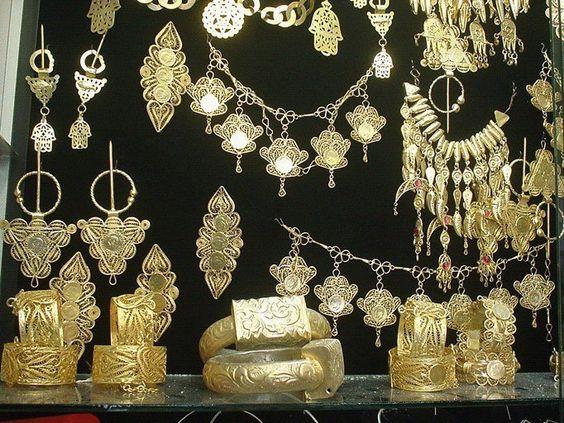 Bijoux mariage tunisien