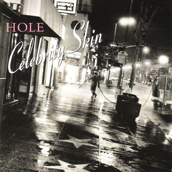 Hole – Celebrity Skin (single cover art)