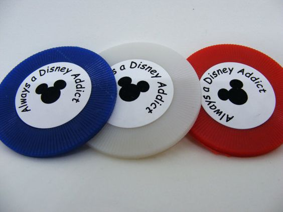 Always a Disney Addict  For anyone who loves by AdamoGolf on Etsy
