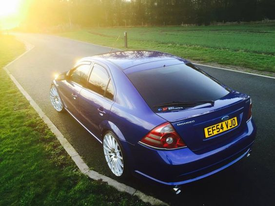 Imperial blue  Ford Mondeo mk3 ST 220  All Ford models