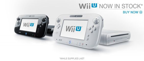 GO *** Game Stop ~ Nintendo Wii U IN STOCK!