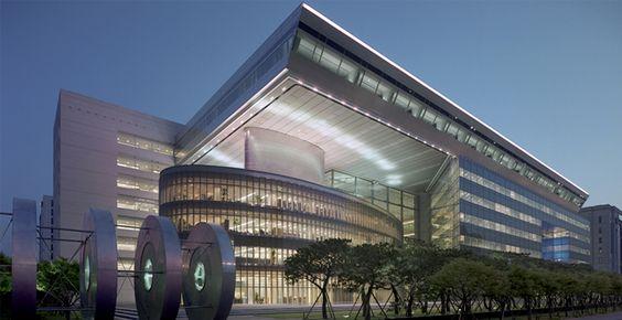 Korea Development Bank Headquarters in Seoul by AECOM