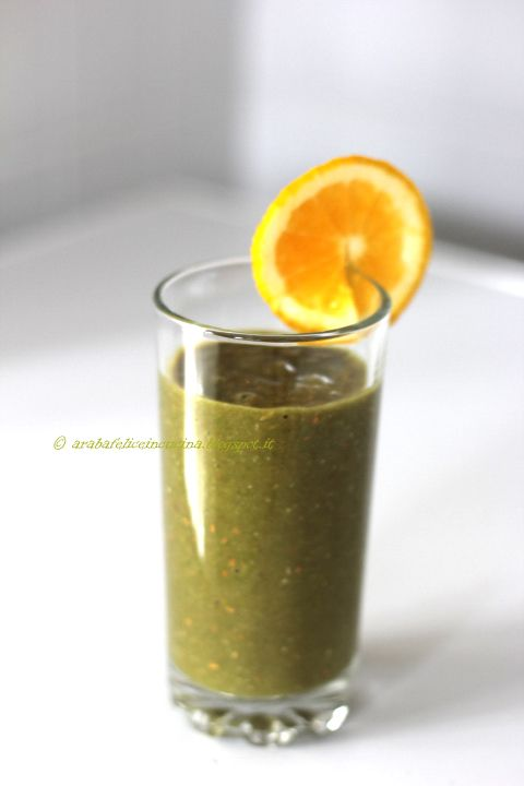 Arabafelice in cucina!: Frullato di banana, fragole ed arancia, e l'ingred...   arabafeliceincucina  