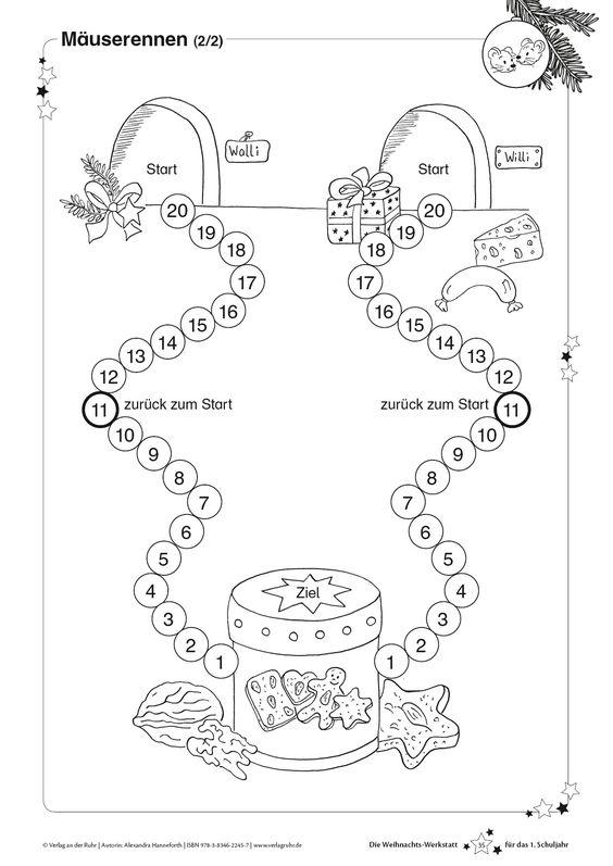 kopiervorlage m userennen 2 2 aus die weihnachts. Black Bedroom Furniture Sets. Home Design Ideas