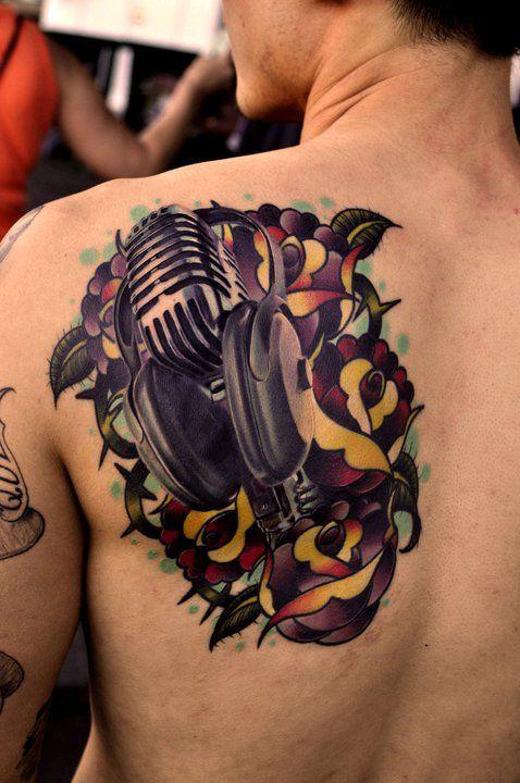 66 Tatuagens para quem adora música