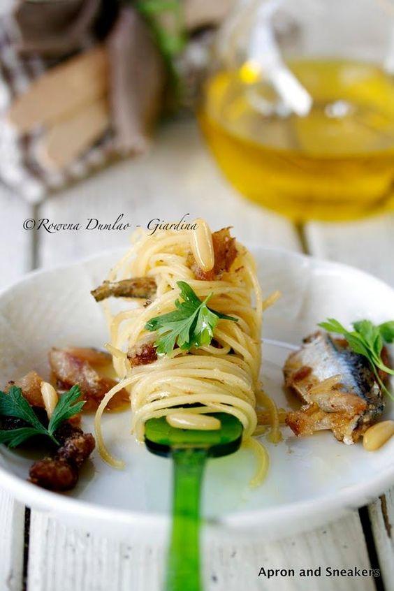 Seafood Recipes : Pasta with Sardines (Pasta con le Sarde) | Seafood ...