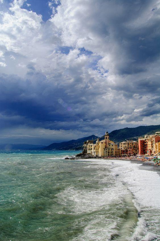 Camogli, Liguria, Italy (by Iggi Falcon)