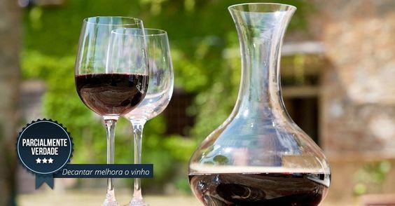 """A questão é capciosa porque a expressão decantar costuma se confundir com aerar: """"Decantar é separar o líquido da borra, que pode 'amargar' o vinho. Este é um procedimento que faz mais sentido para vinhos tintos envelhecidos. Mas o decanter pode ser usado para aerar e 'abrir' quase todo vinho, já que a passagem de ar revela seus aromas"""", diz Perazza"""