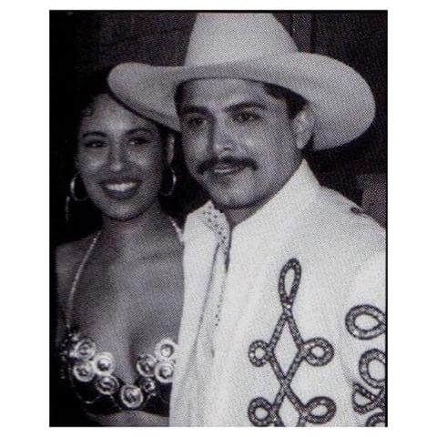 Selena and Emilio Navaira  have a great day Selena fans! #selena #queen…
